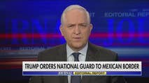 On Saturday, Paul Gigot covers President Trump sending national guards troops to the Mexican border this week as a form to crackdown on illegal immigration, Trump Administration slaps new sanctions on Russian government and oligarchs with ties to President Vladimir Putin, and China trade tensions escalates as Trump threatens an additional $100 billion in tariffs.