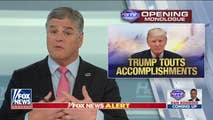 On Thursday, Hannity discusses the President's accomplishments so far that the Mainstream Media has decided to ignore, the left keep comparing President Trump to the Mafia or dictators, and a discussion with some very knowledgeable veterans about what can be done regarding Syria.