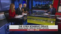 On Sunday, Howard Kurtz gives us the latest media analysis on Syria bombing debate, media criticizes and praise Trump for intervening in Syria, Former FBI director James Comey's TV interviews, and the possible effect of House Speaker Paul Ryan resignation will have on the GOP.