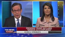 On Sunday, Chris Wallace provide us with an overview on United States and European allies striking the Assad regime, for using chemical weapons to murder their own people, FBI raids the President personal attorney Michael Cohen, and former FBI director James Comey lashes out at President Trump in his new book.