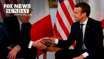 On Sunday, Chris Wallace sits with the President of France Emmanuel Macron for an exclusive interview on the eve of his visit to Washington to discuss France relationship with the U.S., the friendship he has forged with President Trump, and the allied missile strike on Syria.