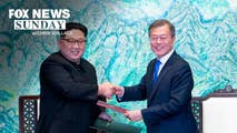 On Sunday, Chris Wallace gives us the latest on the leaders of North and South Korea pledge to clear the Korean Peninsula of nuclear weapons, whether a meeting between President Trump and Kim Jong - un will happen, and President calls on Senator Tester to resign over Jackson opposition.