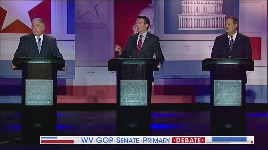 Republican Senate candidates debate many topics including: devotion to President Trump, the opioid crisis and foreign affairs live from Morgantown, West Virginia.