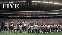 On Thursday, The Five react to Trump's rebuttal to the NFL decision saying players that don't stand for the national anthem 'shouldn't be in the country' and breaking news on North Korea talks.