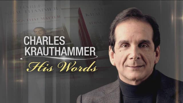 Charles Krauthammer: His Words