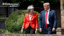 On Friday, Laura Ingraham recaps President Trump's day in London meeting with both Prime Minister Theresa May and Queen Elizabeth II while avoiding massive protests around the city. Then later, Raymond Arroyo joins the show to present another edition of his signature Friday Follies.