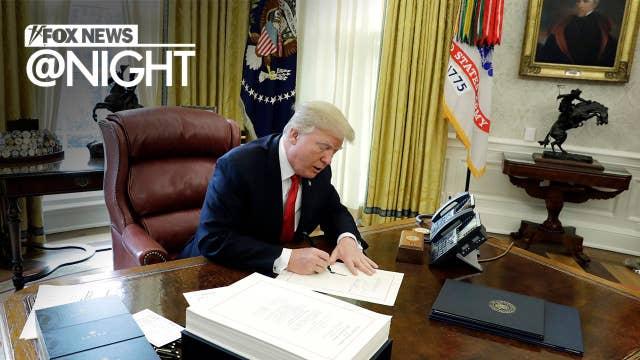 Fox News @ Night - Wednesday, August 8