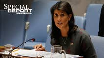 On Wednesday, Bret sits down with US Ambassador to the UN Nikki Haley to discuss topics ranging from Syria tension to shadow politics by John Kerry, meanwhile, the Pope is visiting Catholic leadership in the States amid abuse allegations, and another look inside the FBI's anti-terror units with Catherine Herridge.