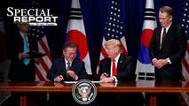 On Monday, Bret updates the viewer on the latest with the Korean Peninsula and the supposed second meeting between President Trump and Premier Kim, the newest trade skirmishes between the United States and China, and Rod Rosenstein's tentative future at the Department of Justice.
