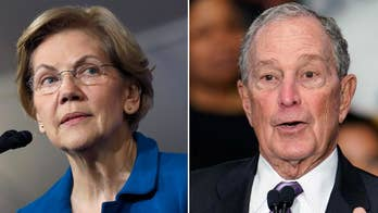 Warren goes after 'egomaniac billionaire' on eve of Bloomberg's debate debut