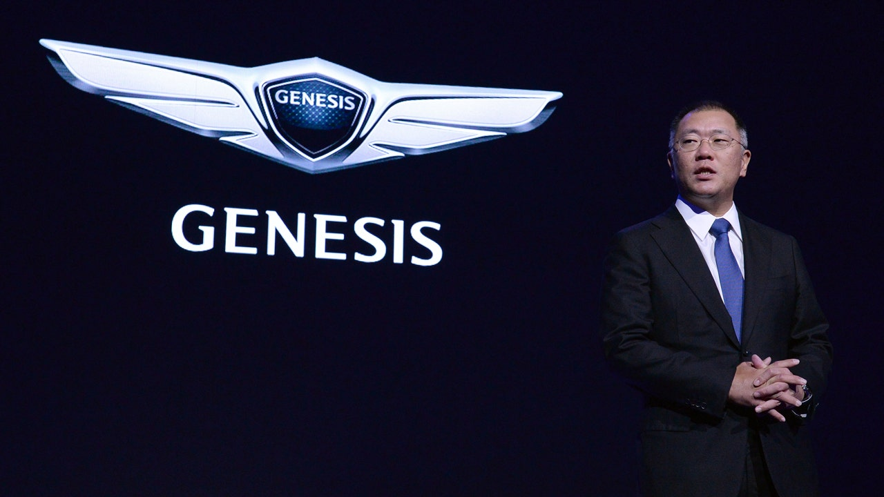 Hyundai goes high end with new genesis brand fox business biocorpaavc Images