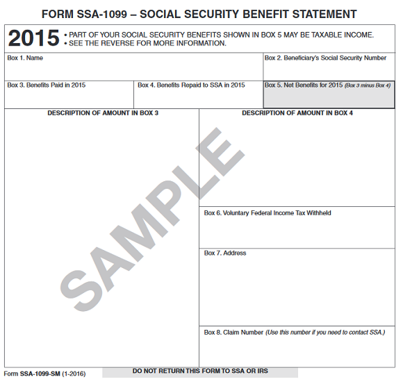 Form SSA-1099: What Everyone On Social Security Should