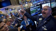 Dow snags 483 point gain, Nasdaq ends 5-day losing streak