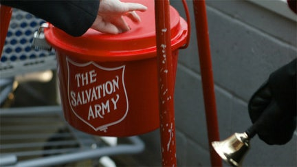 Tiffany bracelet dropped in Salvation Army kettle