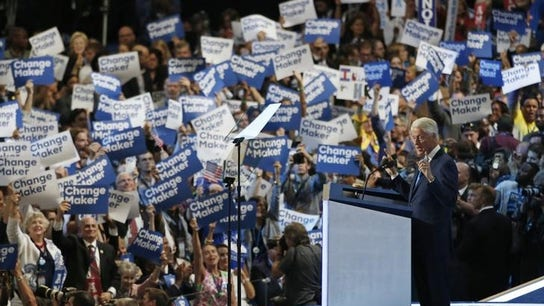 Bill Clinton Portrays Hillary as 'Change-Maker'