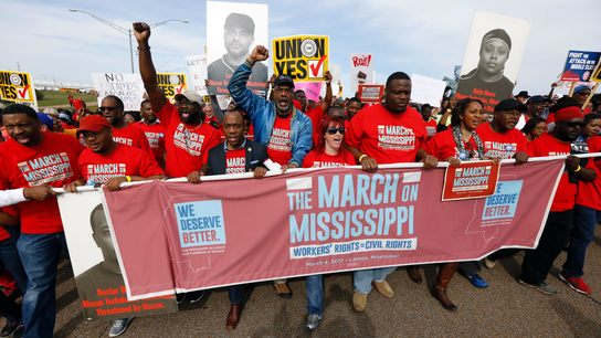 Union files for vote by workers at Mississippi Nissan plant
