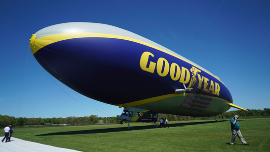 Old dogs, new blimps: Goodyear pilots need to be retrained