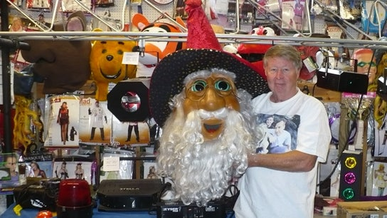 Owner Repurposes VCR Store Into Costume Shop