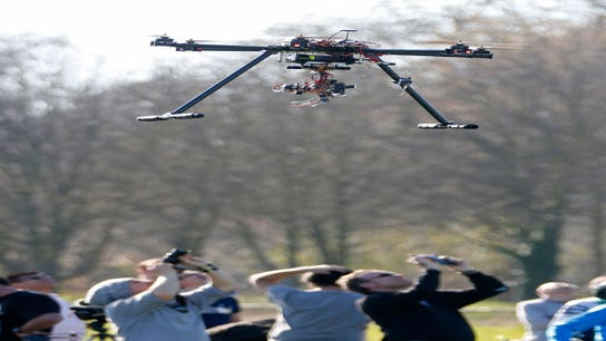 Drones Getting Badly Needed Air Traffic Control
