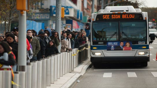 A Commuter's Dream: Bus Arrivals Timed Just Right