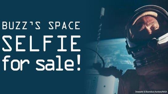 Buzz Aldrin's Space 'Selfie' for Sale!