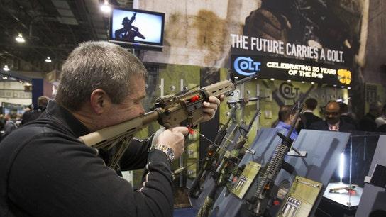 Gun stocks slide as Trump pushes new gun rules