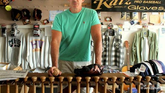 Yes, He Breaks in Baseball Gloves for a Living