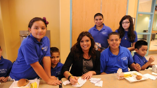 Food Fight: Rachael Ray Takes on New York City Over Free Student Lunches
