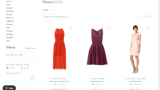 Rent the Runway's Roots; Fashion, Tech & a Dress