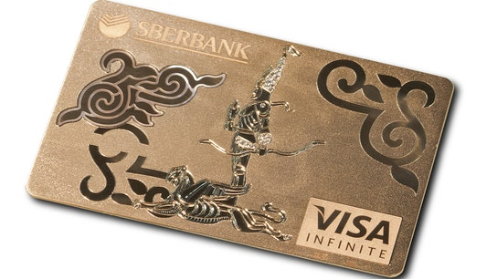 Visa Rolls Out Solid Gold Credit Card