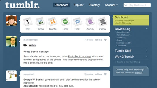 Rolling Out Your Social Media With Tumblr