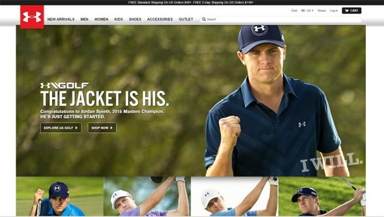 f89b020a624e15 Jordan Spieth s Masters Win a Hole-in-One for Under Armour
