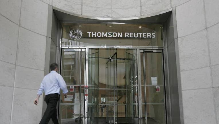 Thomson Reuters operating profit falls on severance costs