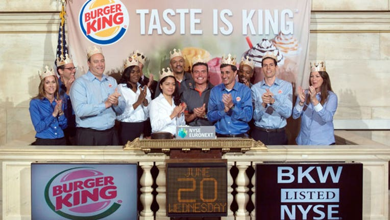 Burger Kings Homecoming Chain Returns To Nyse Fox Business