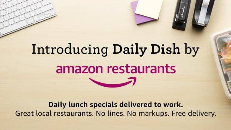 Amazon Tests 'Daily Dish' Food Delivery Service for the Workplace