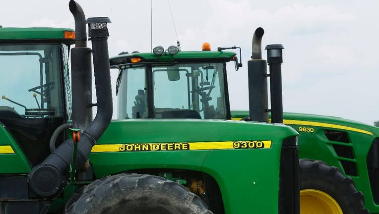 Deere second quarter net sales up 34%