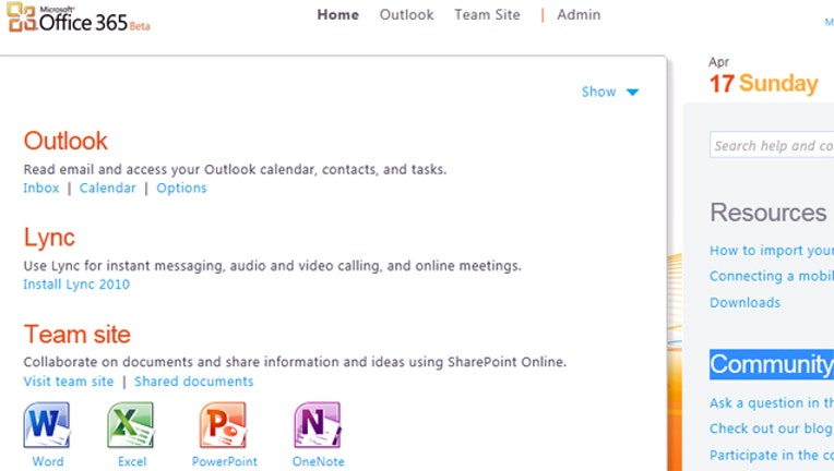 Microsoft Office 365: Another Ray of Light From the Cloud