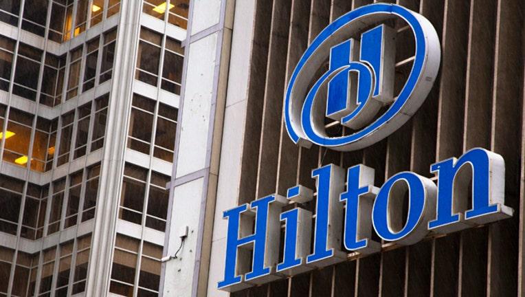 Hilton closing price ipo