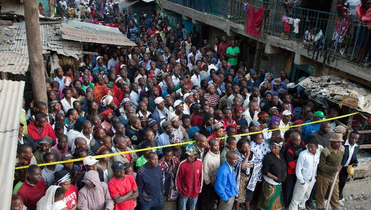 2 dead after 8-story building collapses in Kenya's capital ...