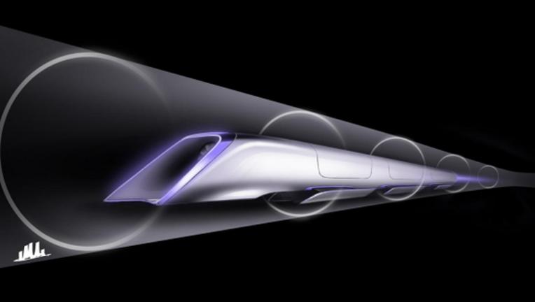 Hyperloop Project Surges Past 100 MPH