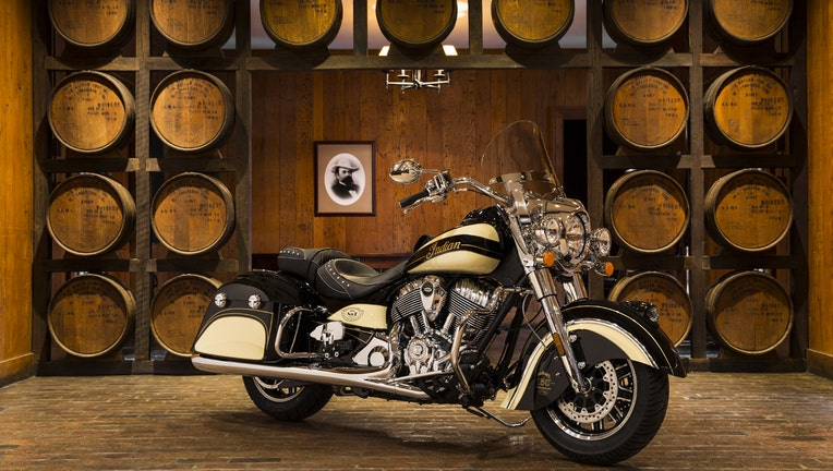 Indian, Jack Daniel's Team Up for Limited Edition Motorcycles
