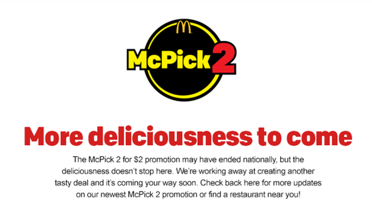 Instant Analysis: McDonald's Reverses Itself On 2 for $2 Meal