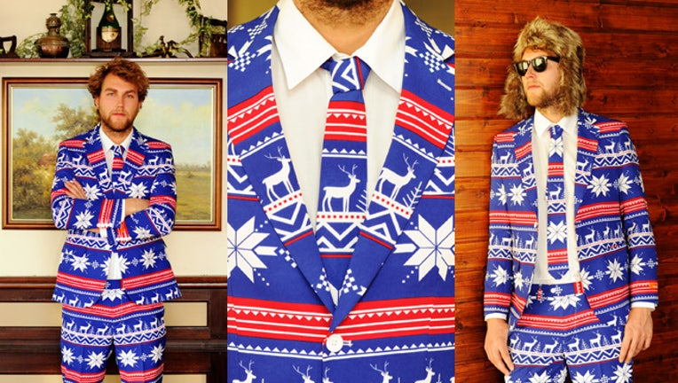 Shinesty Christmas Suits.Website Sells Out Of Ugly Christmas Suits Fox Business
