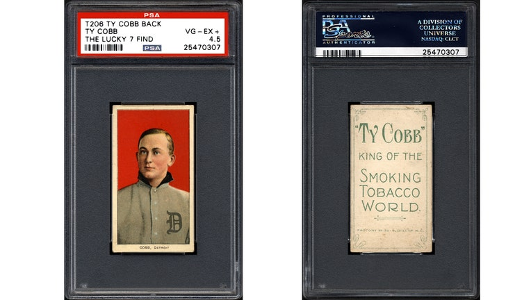 Cache Of Century Old Ty Cobb Baseball Cards Found Fox Business