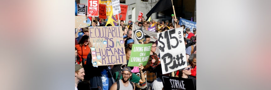 MINIMUM WAGE HIKE FIGHT CONTINUES AFTER SEATTLE FIRM FILES BANKRUPTCY