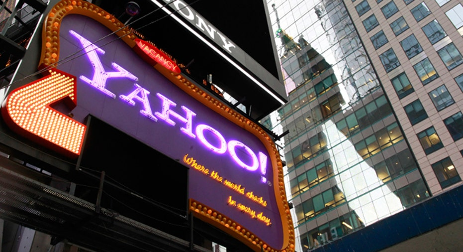 Yahoo Billboard in Times Square