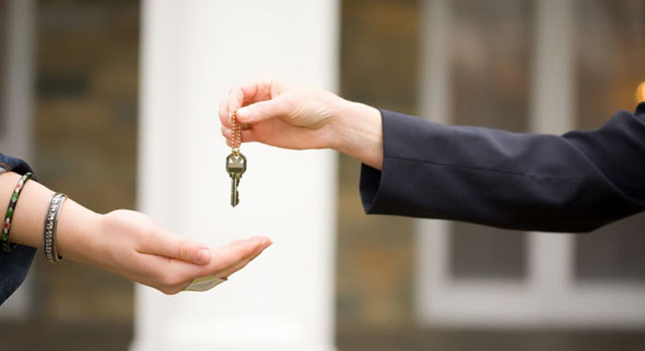 Handing Off Keys to New Owner or Borrower