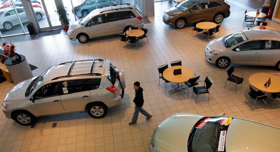 Toyota Auto Dealership, Reuters