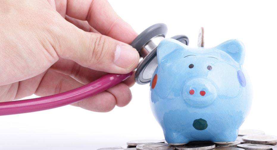 Blue Piggy bank