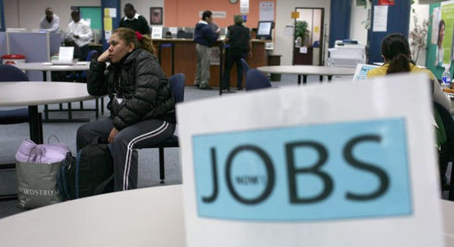 Jobs Sign Unemployment Jobless